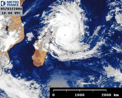 Cyclone Gafilo - O5/03/2004