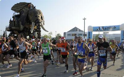 Le marathon de Nantes