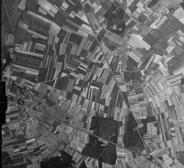 photo aérienne 1950