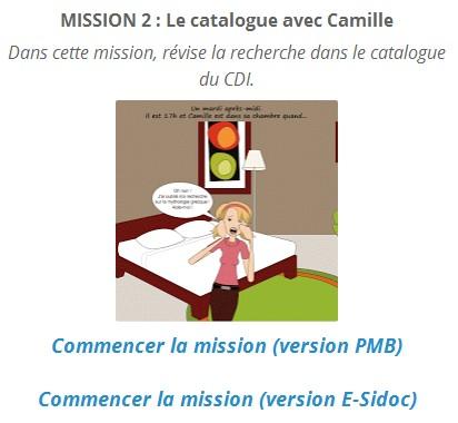 accéder à la mission 2