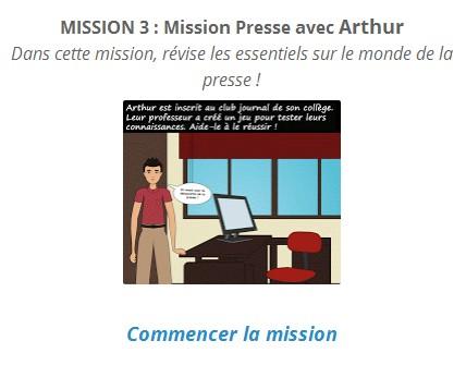 accéder à la mission 3