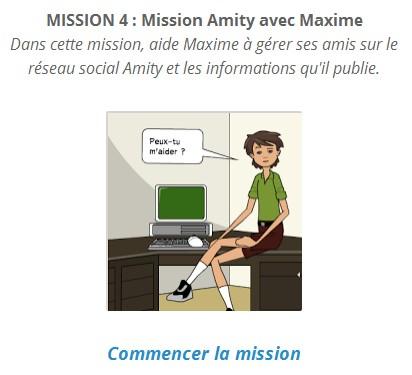 accéder à la mission 4