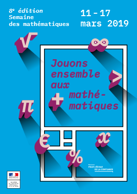 affiche semaine des maths 2019