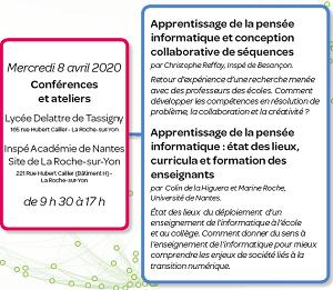 Programme de la 2nde rencontre académique au numérique 2020