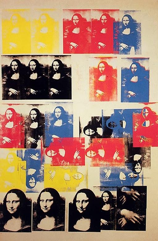 Andy Warhol, La Joconde, 1963