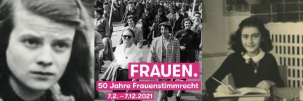 Sophie Scholl- 50 ans de droit de vote pour les femmes en Suisse- Anne Frank