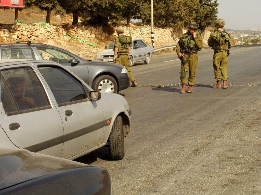 barrage de l'armée israélienne