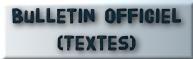 BO textes officiels