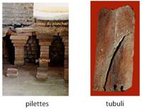 briques pilettes et tubuli
