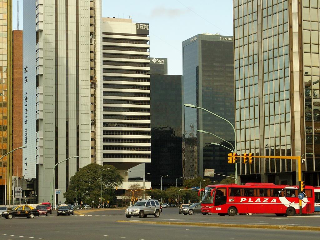 Le centre d'affaires de Buenos Aires