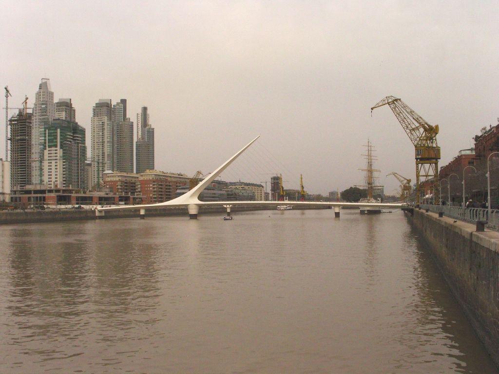le quartier réhabilité du port de Buenos Aires