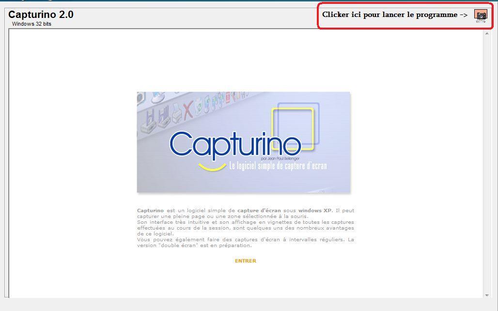 logiciel capturino