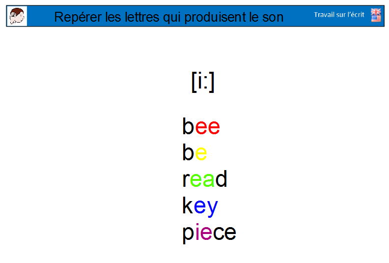 Ecrit en LV phonologie 2