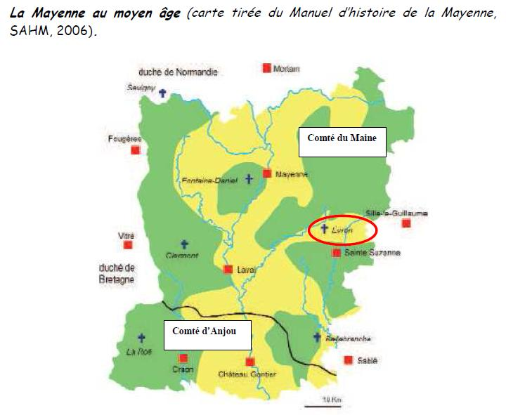 carte situation Évron