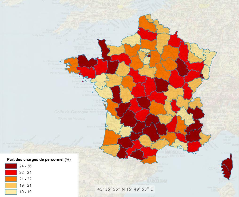 Carte statistique réalisée avec edugeo