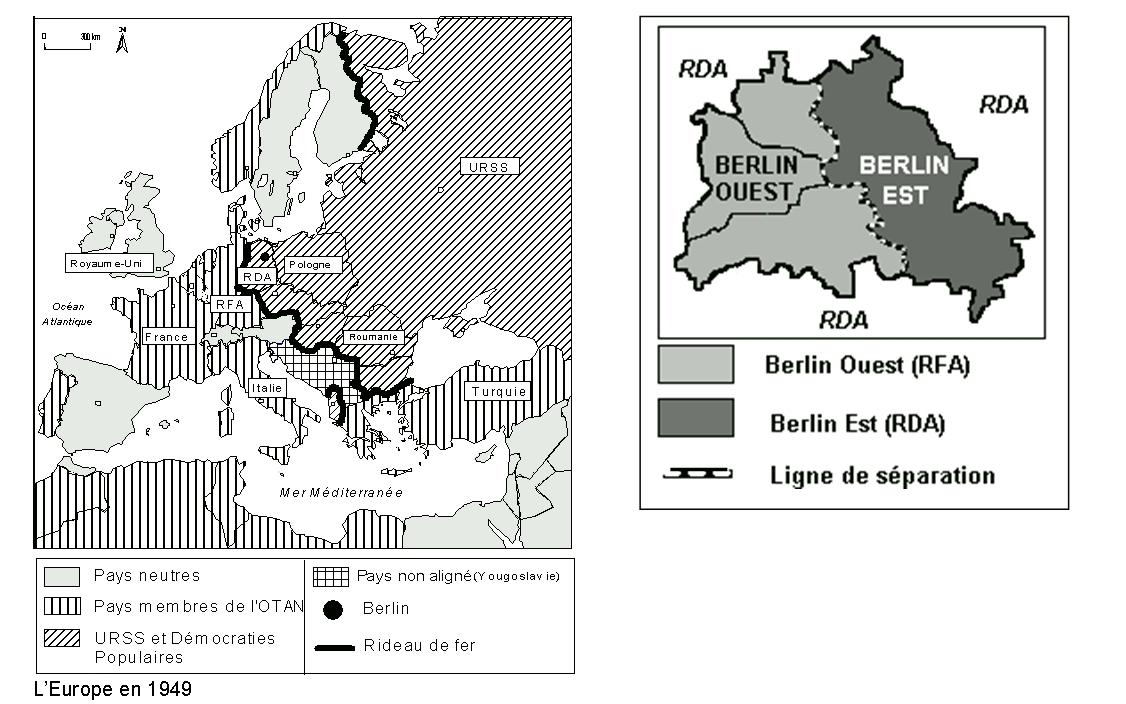 l'europe et berlin un enjeu de la guerre froide