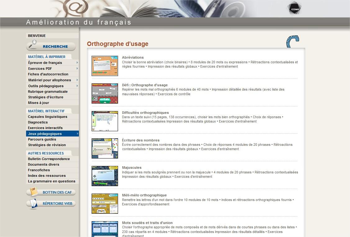 écran site ccdmd.qc.ca