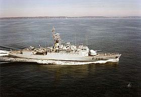 """Le navire militaire """"Lieutenant de vaisseau Lavallée"""""""