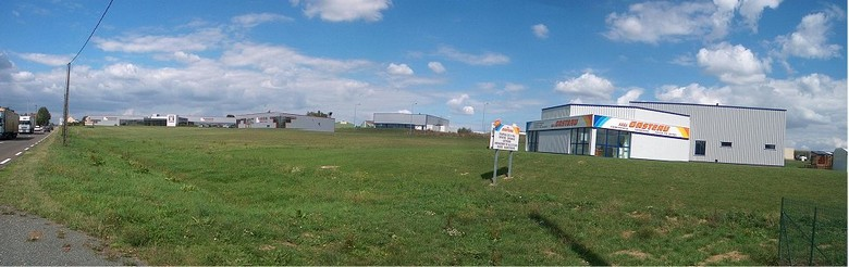 La zone industrielle des carrières.