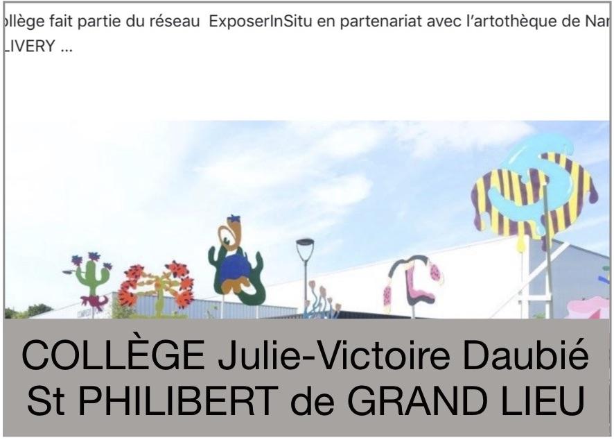 Collège Julie-Victoire Daubie - St Philiber de Grand Lieu