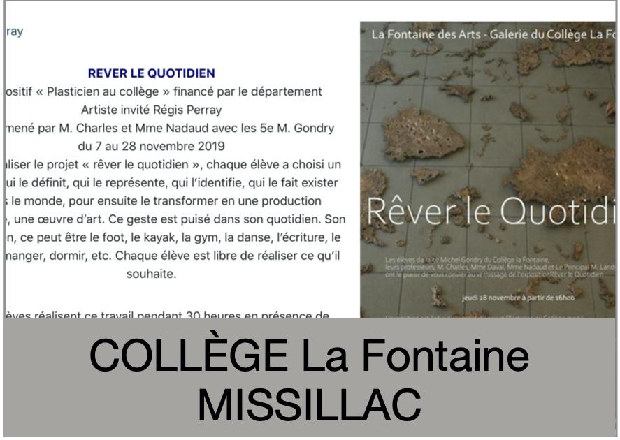 collège La Fontaine - Missillac
