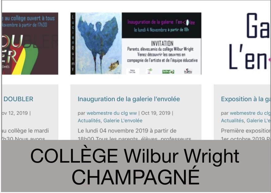 collège Wilbur Wright - Champagné