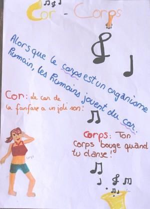 cor, corps