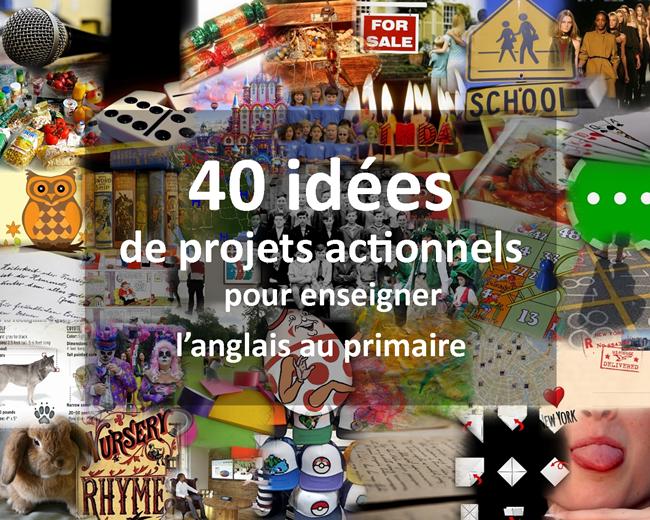 Couverture 40 idées de projets actionnels