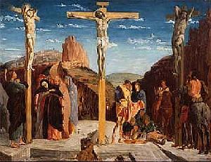 Copie de la Crucifixion  - Degas