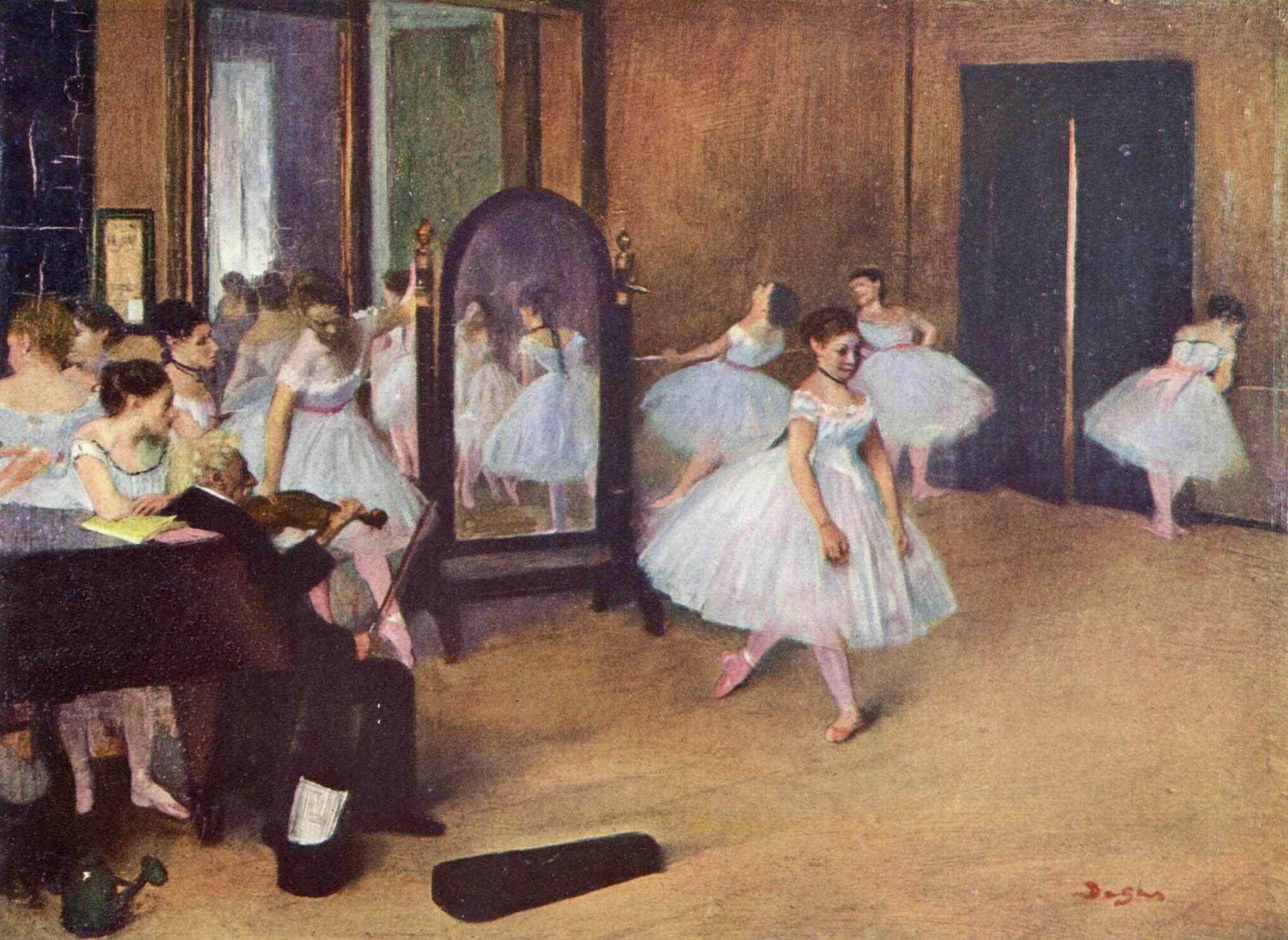 Degas : danseuses et violonistes