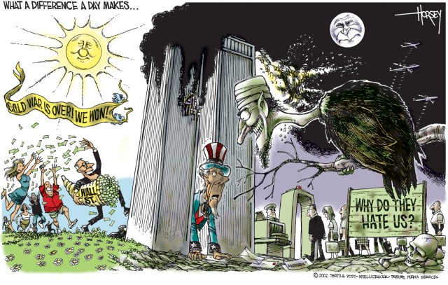 caricature de David Horsey