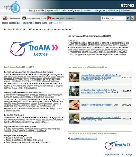 dossier TraAM