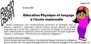 recto-verso n°55 : eps et langage à l'école maternelle