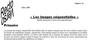 recto-verso n°56 : les images séquentielles