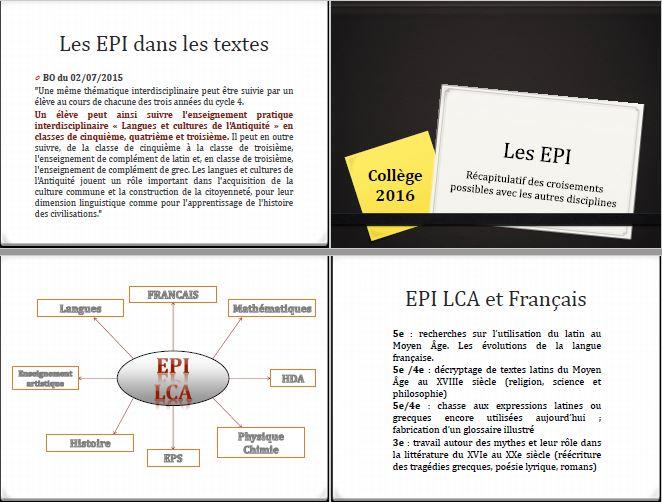 EPI LCA