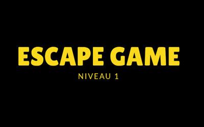 Escape Game : Mission starsun - Niveau 1