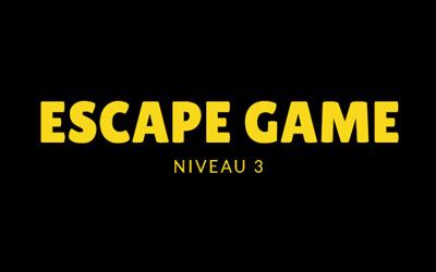 Escape Game : Mission Starsun - Niveau 3