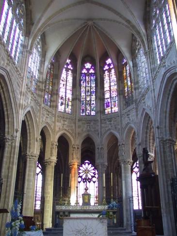 le chœur gothique
