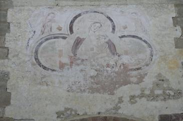 fresque de la nef