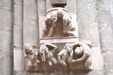 sculpture de la nef