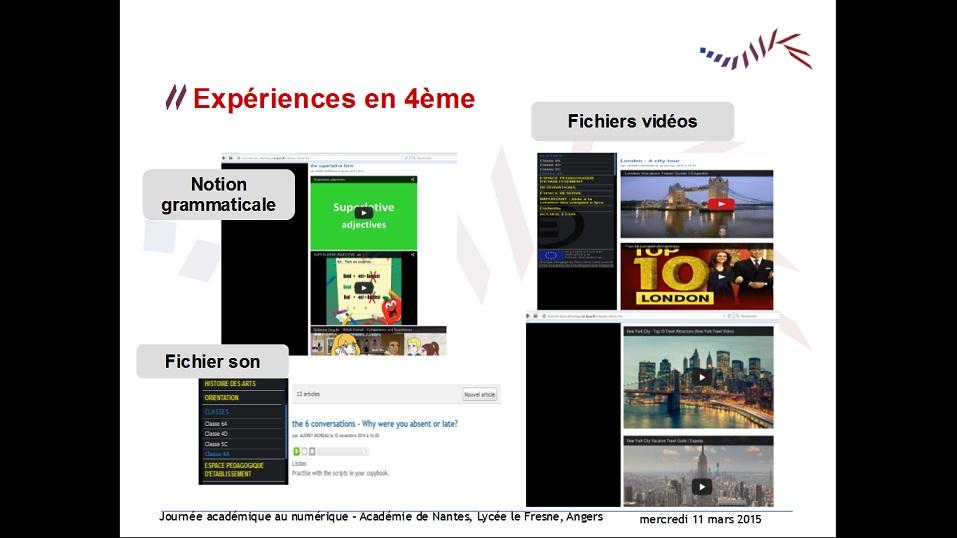 capture écran expérience 4