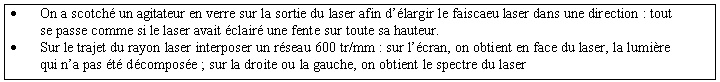 Figure 3 : et avec un laser ?