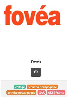 accéder à la plateforme Fovea sur Eduthèque