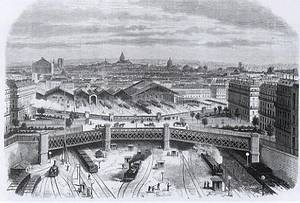 Monet La Gare Saint-Lazare en 1868