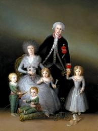 La familia del Duque de Osuna