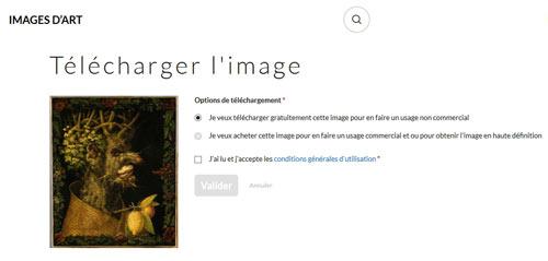 Image d'Art présentation téléchargement