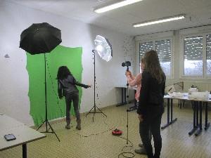 plasticien au collège Savenay