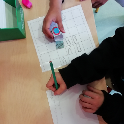 Ecrire les instructions - travail en binôme
