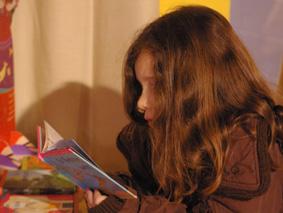 lectrice enfant