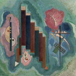 Vassily Kandinsky - Herunter (Vers le bas) - 1929